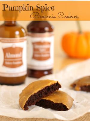 Gluten-Free Pumpkin Spice Brownie Cookies