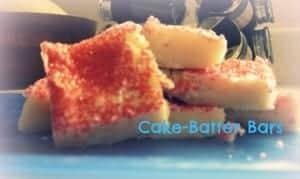 cakebatterbars