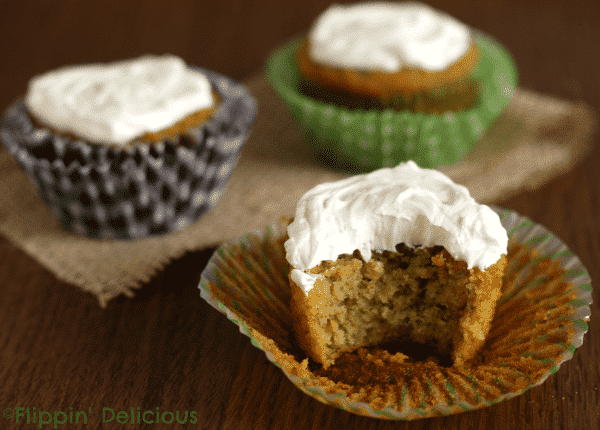 Carrot Zucchini Muffins #glutenfree and can easily be made #grainfree too. Full of protein and veggies they make a great breakfast!