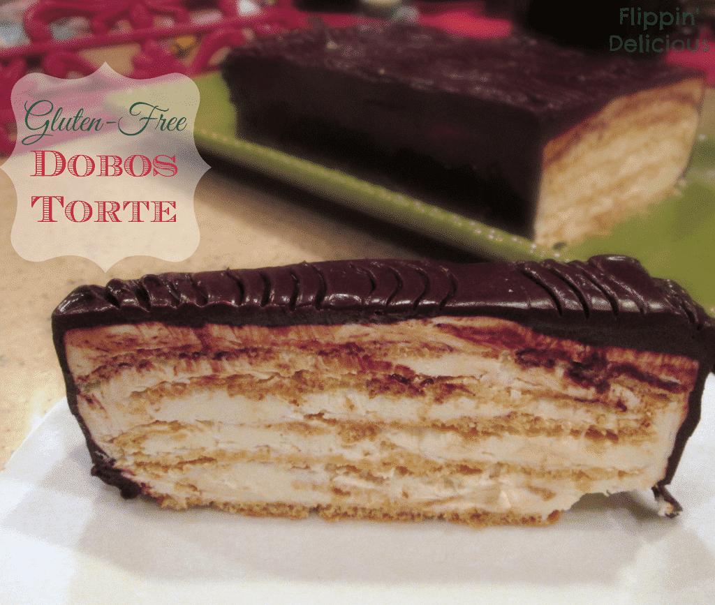 Gluten-Free Dobos Torte