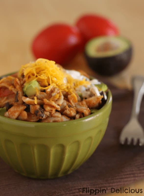 Gluten-Free One Pot Taco Pasta, easy family meal that comes together in minutes #glutenfree