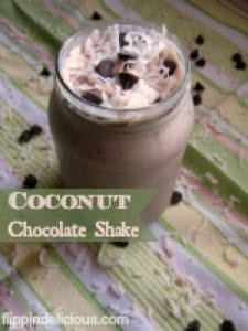 Dairy Free Coconut Chocolate Shake