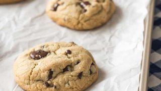Giant Gluten Free Chocolate Chip Cookies