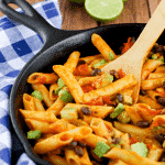 Buttery Chile Lime Pasta (gluten free, dairy free, soy free, vegetarian)
