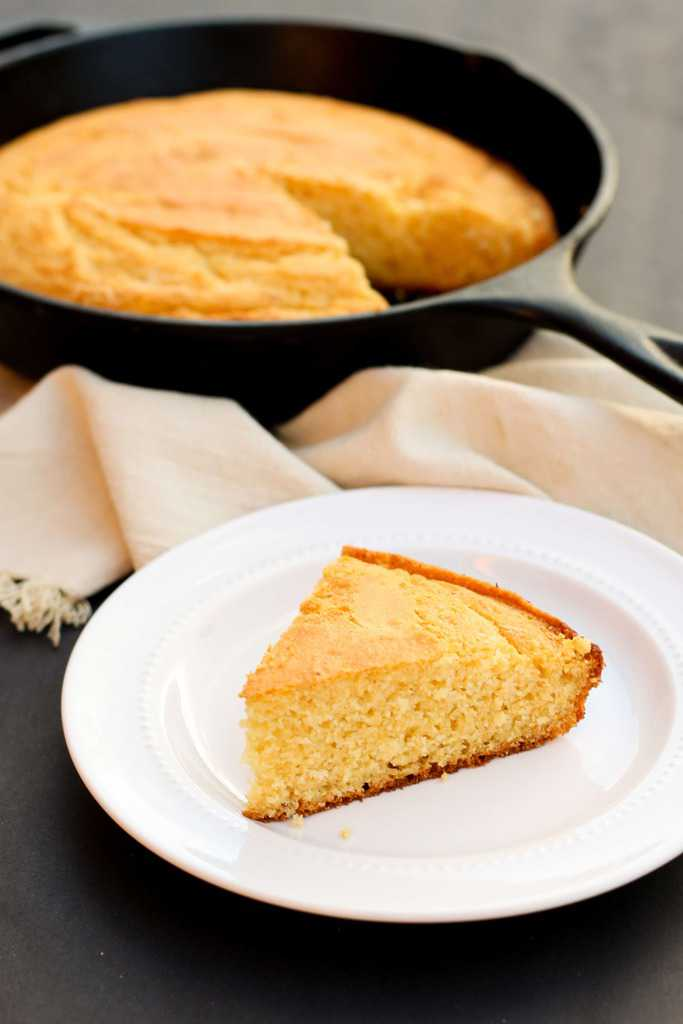 Gluten-Free Honey Cornbread | Sweet gluten-free cornbread with chewy ...