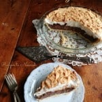 Chocolate Meringue Pie| Savoring Saturdays