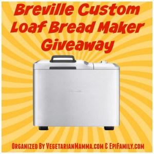 Breville Bread Maker Giveaway!