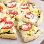 Gluten Free Southwest Breakfast Pizza