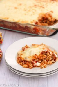 Easy Gluten Free Lasagna Casserole