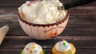 Easy Homemade American Buttercream Frosting Recipe (Dairy Free Option)