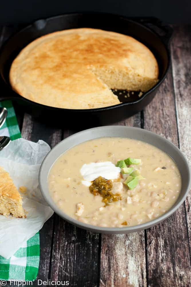 Green Chile White Bean Chicken Chili