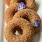 Low Carb Gluten Free Cinnamon Sugar Donuts| Savoring Saturdays