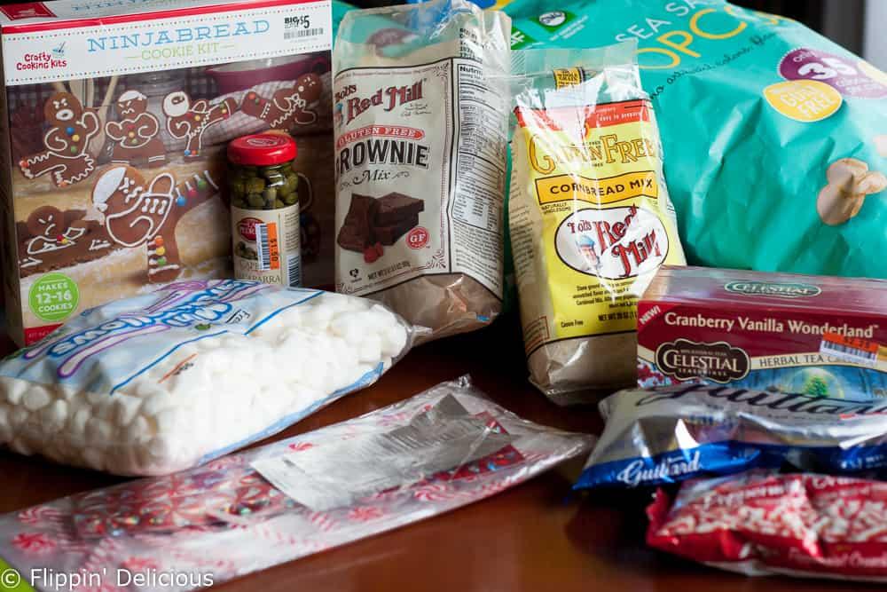 gluten free peppermint brownie popcorn-1