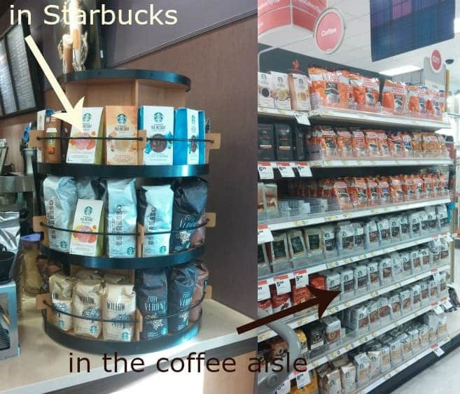 starbucks in store photo Target