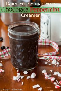 Dairy Free Chocolate Peppermint Creamer