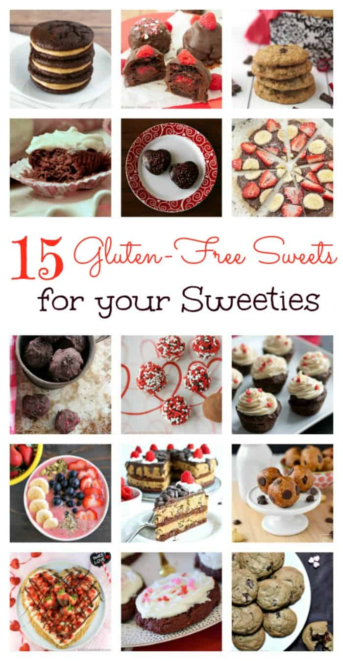 Sweets for your Sweeties Gluten Free Treats for Valentine's Day