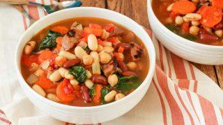 Tuscan 3 Bean Sausage Soup Recipe