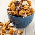Salted Caramel Chocolate Chex Mix
