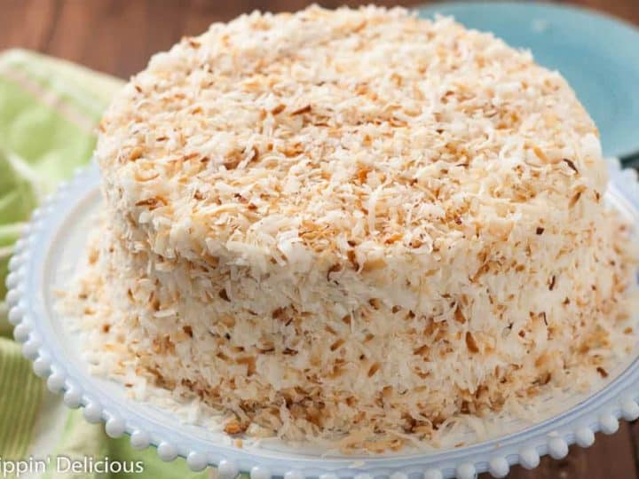 Dairy Free Gluten Free Coconut Layer Cake