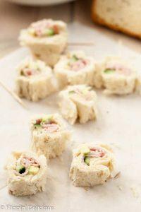 Dairy Free Gluten Free Sandwich Sushi