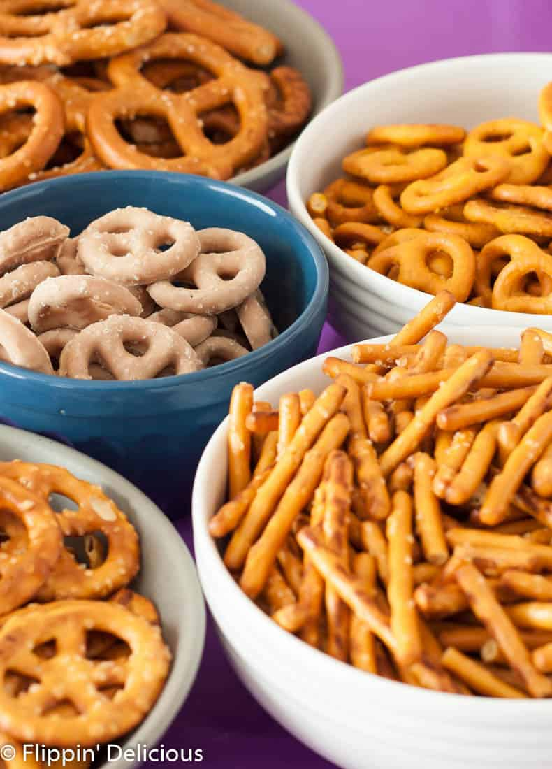 Celebrate #NationalPretzelDay with a gluten free pretzel party!