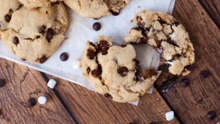 Dairy Free Gluten Free S'mores Cookies