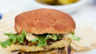Gluten Free Teriyaki Grilled Pineapple Burgers