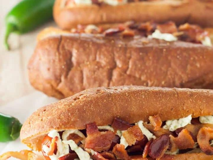 Gluten Free Jalapeno Popper Hot Dogs