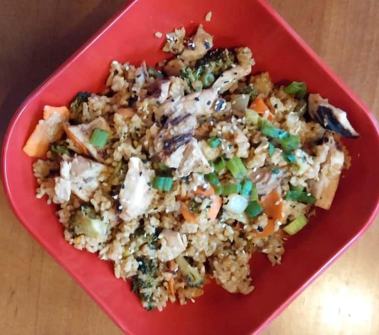 Chop Shop Teriyaki Mission Beach San Diego Menu Gluten Free Options Chicken Fried Rice