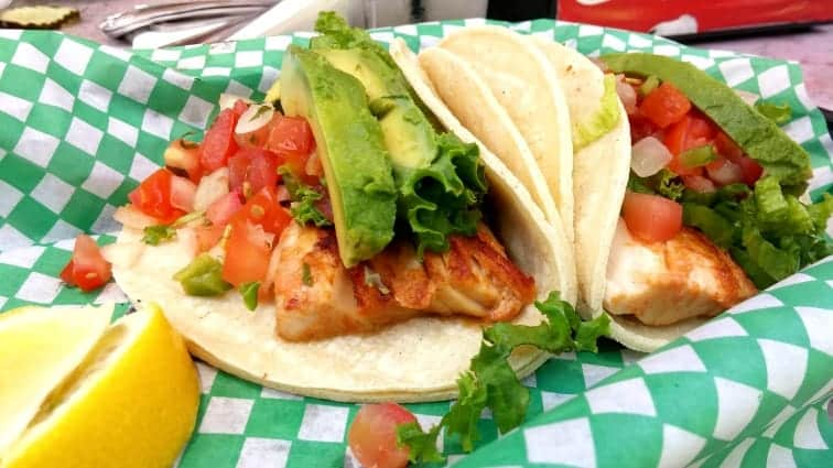gluten free grilled fish tacos coaster grill mission beach san diego