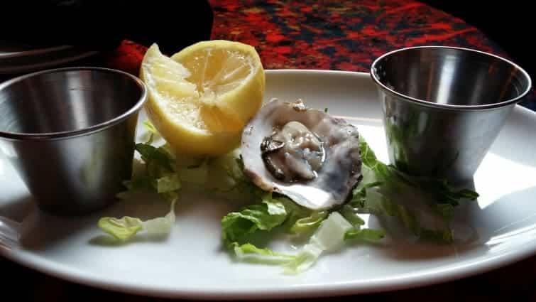 mission beach san deigo Saska Sushi gluten free options raw oyster