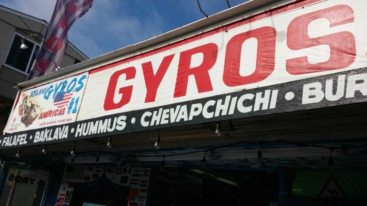 mission beach san diego gluten free arslan's gyros