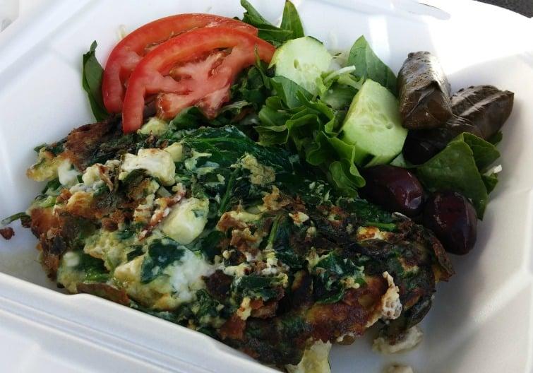 mission beach san diego gluten free spinach pie arslan's gyros