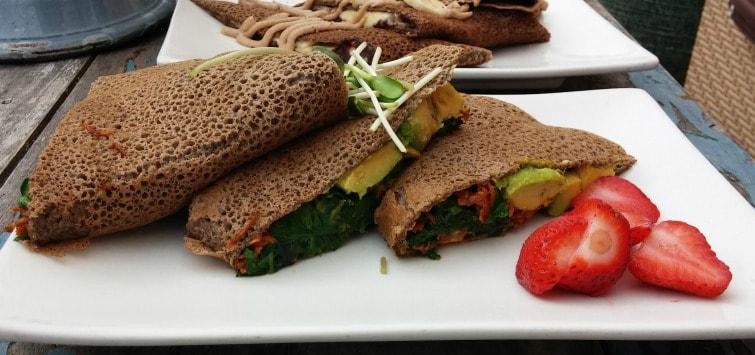 san diego gluten free trilogy sanctuary la jolla gluten free vegan savory breakfast crepe