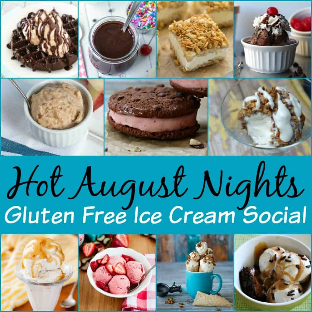 Hot August Nights Gluten Free Ice Cream Social