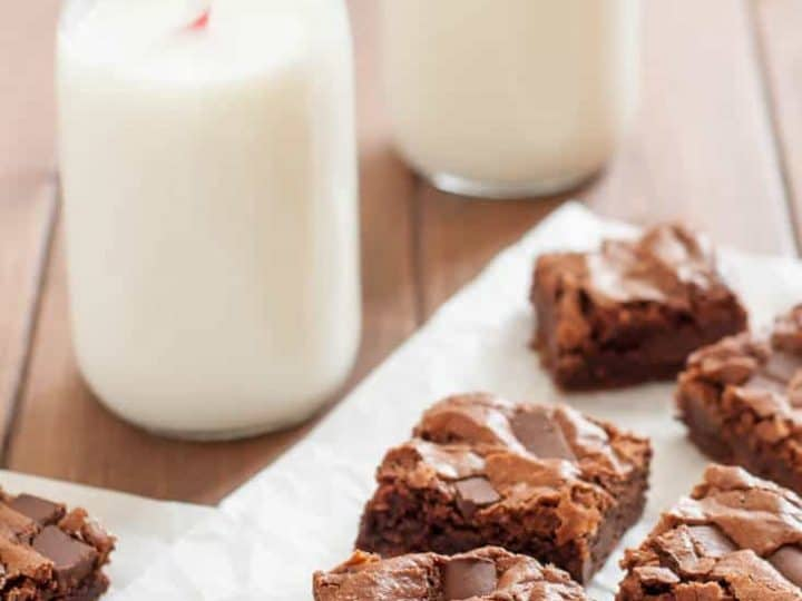 Gluten Free Brownies with Almond Flour (dairy free)