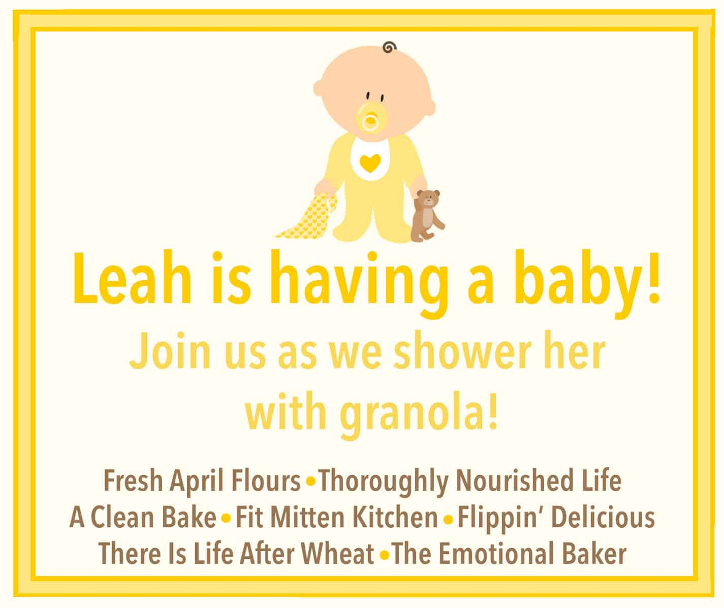 Granola Baby Shower