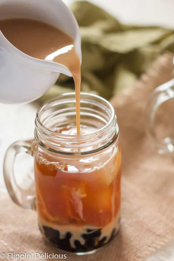 Make your own Dairy Free Pumpkin Chai Bubble Tea, and sip it all fall! It is so easy to make yourself, and your wallet will thank you.