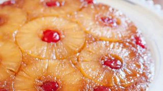 Gluten Free Pineapple Upside Down Cake