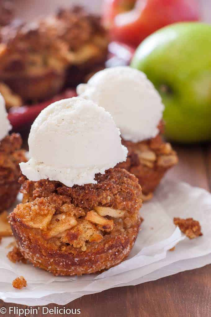 Gluten Free Apple Brown Betty Cups take the classic dessert to a new fun-portable place. The perfect sweet and buttery fall apple dessert!