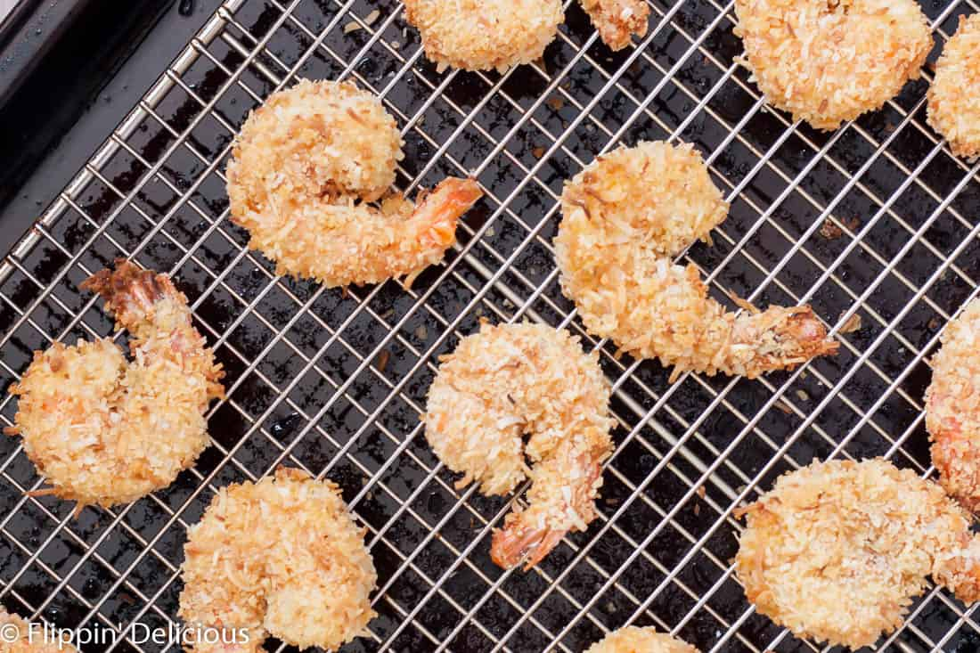 These gluten free coconut shrimp are practically perfect, and can even be baked!