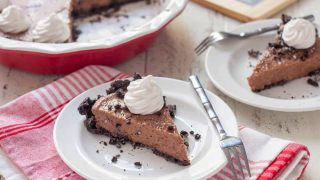Gluten Free Vegan Chocolate Pie