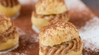 Gluten Free Tiramisu Cream Puffs
