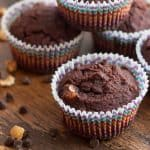 Gluten-Free Chocolate Hazelnut Muffins
