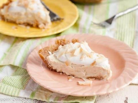 Gluten Free Dairy Free Coconut Cream Pie