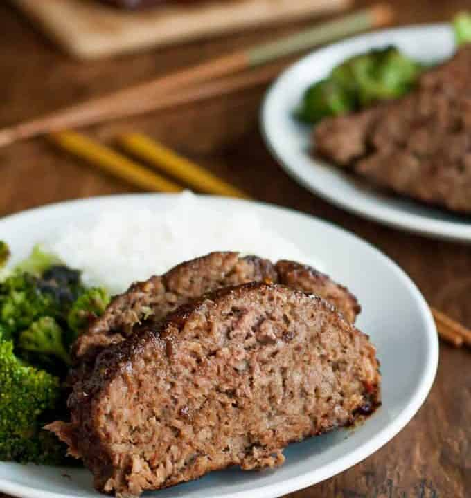 Gluten free teriyaki meatloaf is comfort food with sweet and tangy flavor. This is one dinner everyone will fight over!