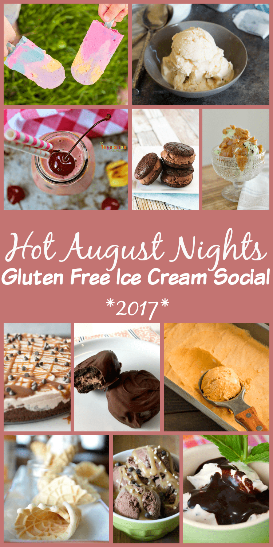 Hot August Nights Gluten Free Ice Cream Social