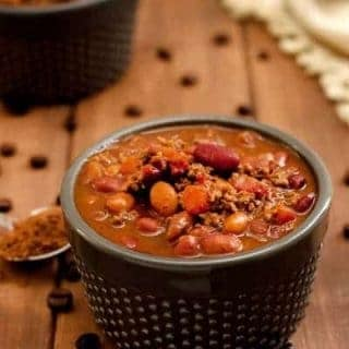 Mole Chili has a kick to it that other chili is lacking. The bite from this bowl will leave your eyes stinging and your taste buds screaming for more.