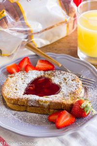 Gluten-Free Nutella Stuffed French Toast