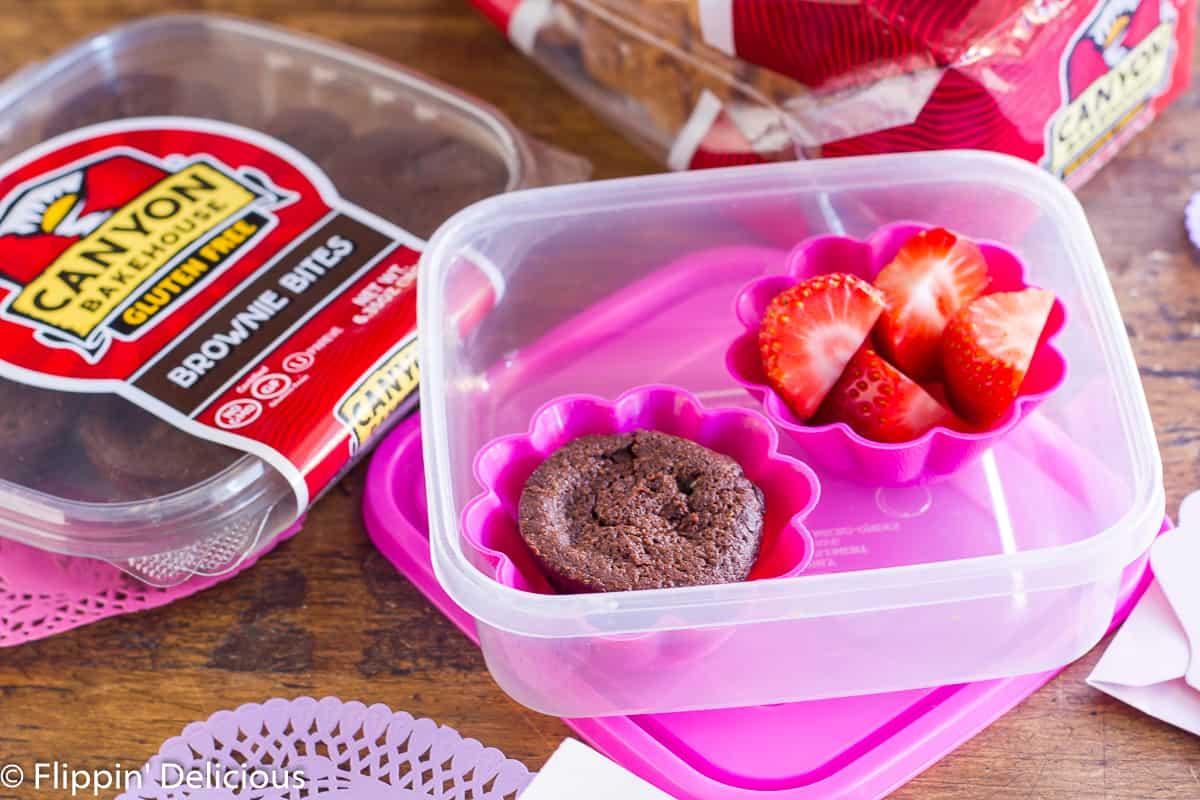 Gluten-Free Valentine's Day Lunchbox.